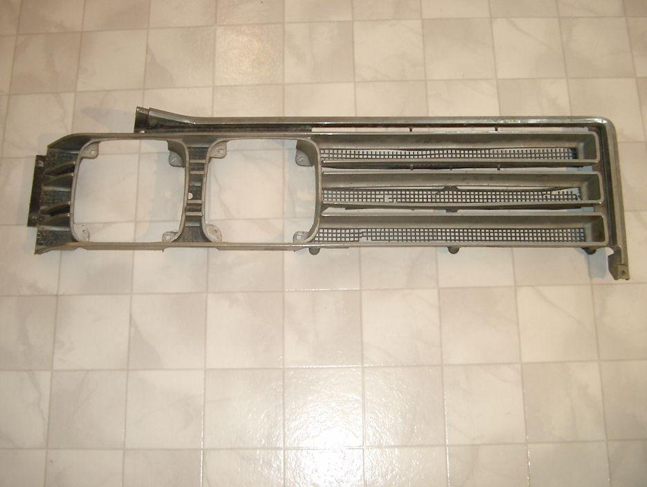 Buick Wildcat Grille on 1968 Buick Lesabre